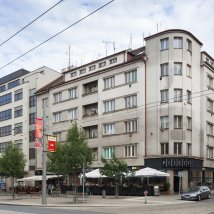 C1–229J Commercial and apartment building of the People's Insurance Company Čechoslavia