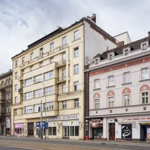 C2–131 Apartment building with shops of the First Czech Mutual Insurance Company in Prague