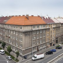 C6–1609 Complex of buildings for the employees of the Pension Fund for the Workers of the Joint Stock Company, formerly the Škoda Works in Pilsen