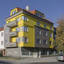C6–2301 Pair of apartment houses of the Stavopodnik Manufacturing and Building Cooperative in Pilsen